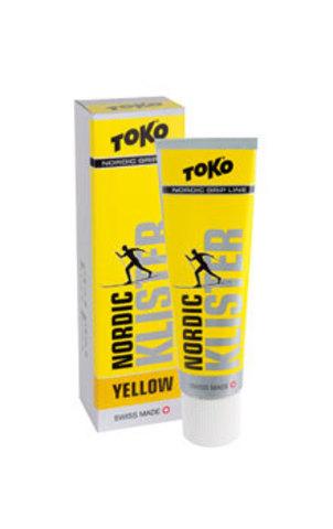 клистер Toko Grip Line клистер,желтая, 0°С/-2°С, 55 гр.