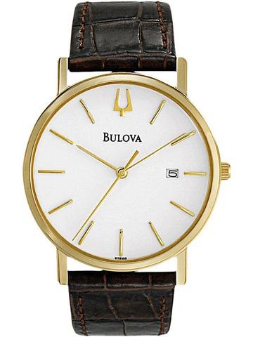 Купить Наручные часы Bulova Классика 97B100 по доступной цене