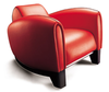 кресло BUGATTI armchair ( кожа)