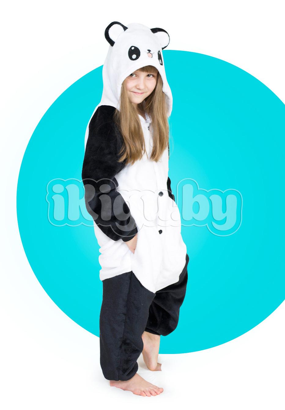 """Детские пижамы кигуруми """"Веселая Панда"""" детки_пандочка1_IGP8243.jpg"""