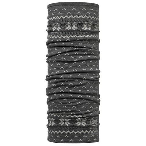 Шарф-труба шерстяной Buff Floki серый