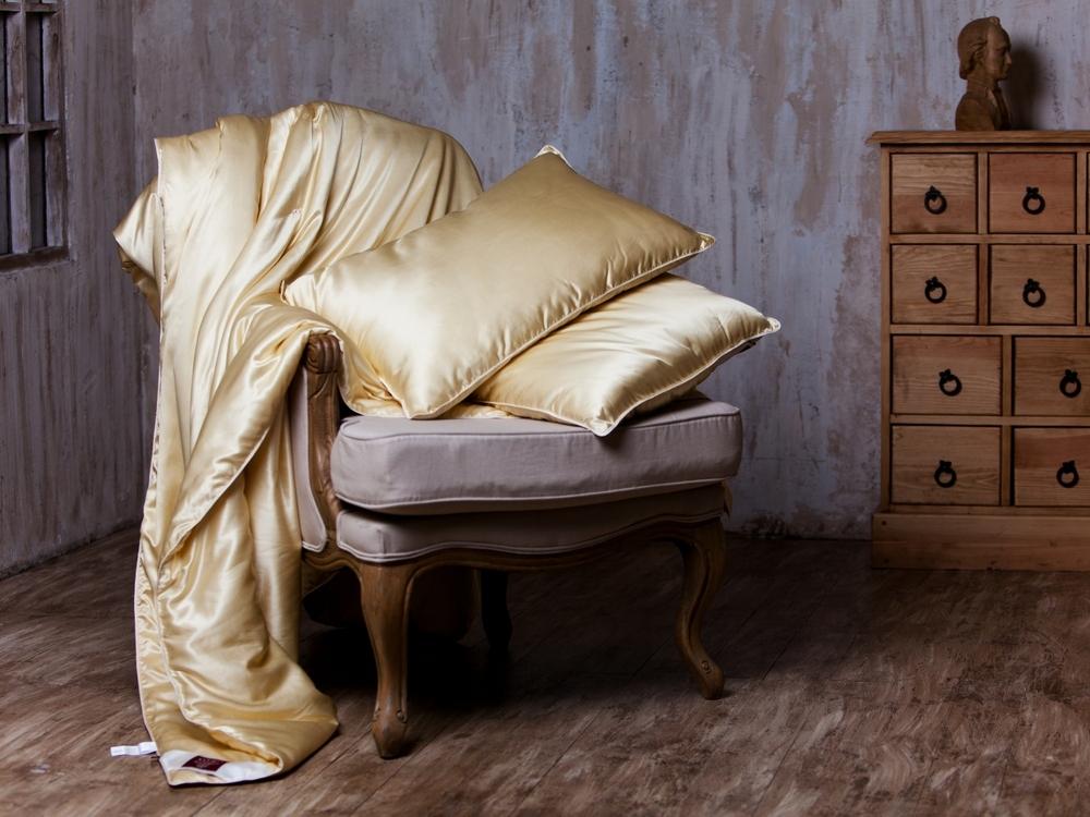 Одеяла Элитное одеяло шелковое 200х220 German Grass Great Silk elitnoe-odeyalo-shelkovoe-great-silk-ot-german-grass-avstriya-bezhevoye-vid-podushka.jpg