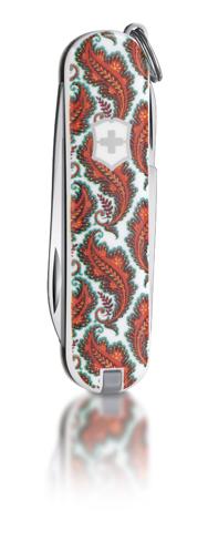 """Нож-брелок Victorinox Classic LE 2011, 58 мм, 7 функ, """"Tula Pink""""  (0.6223.L1103)"""