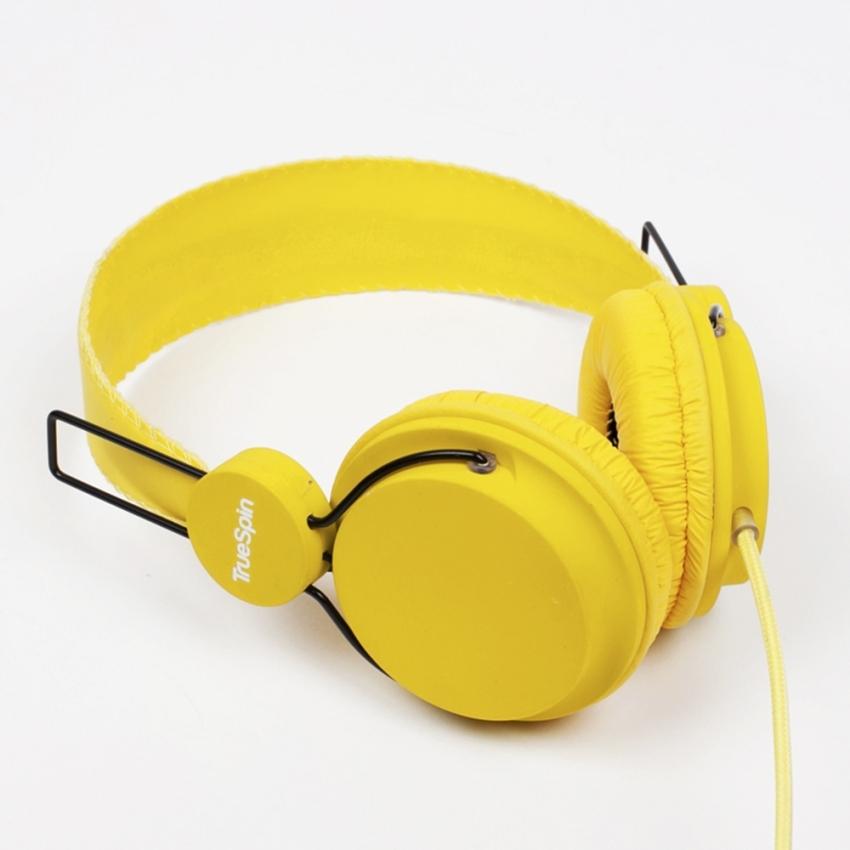 Наушники TRUESPIN BASIC HEADPHONE YELLOW