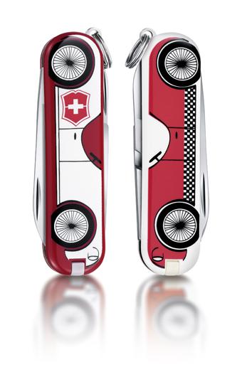 "Нож-брелок Victorinox Classic LE 2014, 58 мм, 7 функ, ""Car""  (0.6223.L1410)"