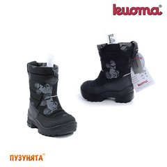 Сапоги Kuoma PUTKIVARSI 1203-0371 black monstr
