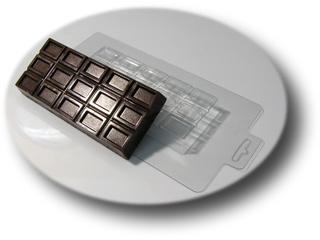 Большая шоколадка Пластиковая форма