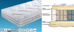 Матрас ортопедический Hukla DuoLuxe 160x200 до 100 кг