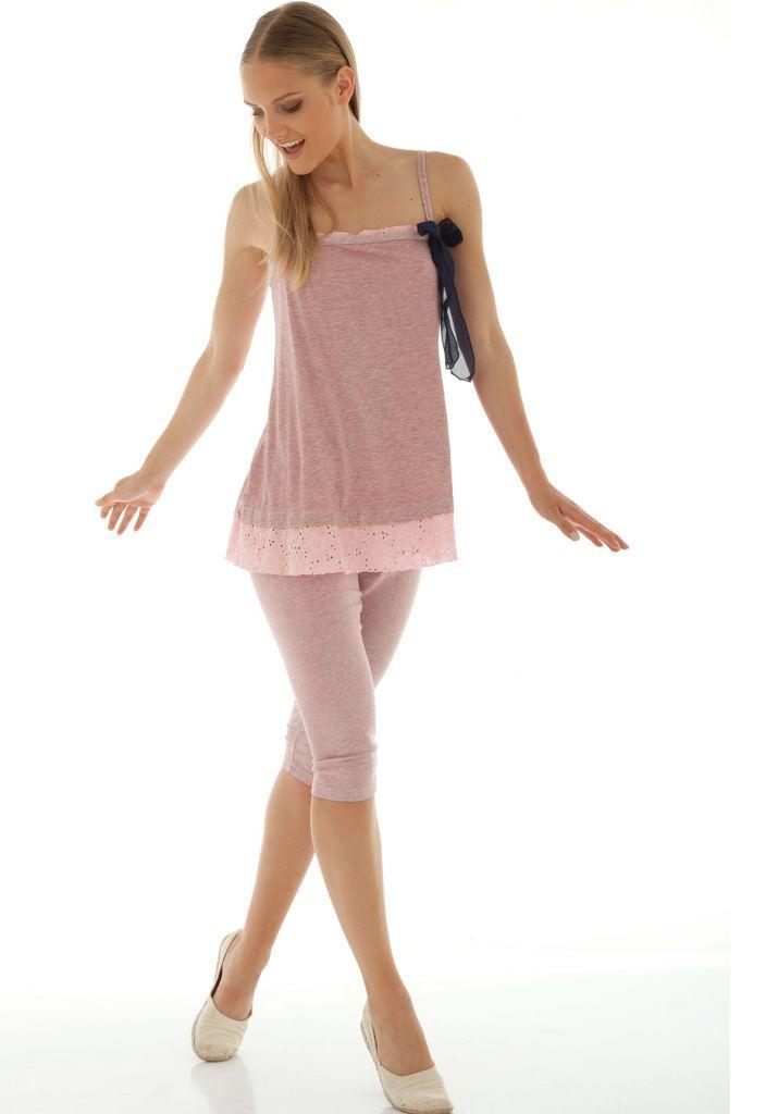Женский домашний костюм с бриджами Rebecca & Bros