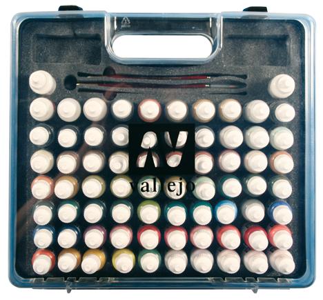 Набор красок Model Color 72 цв + кисти