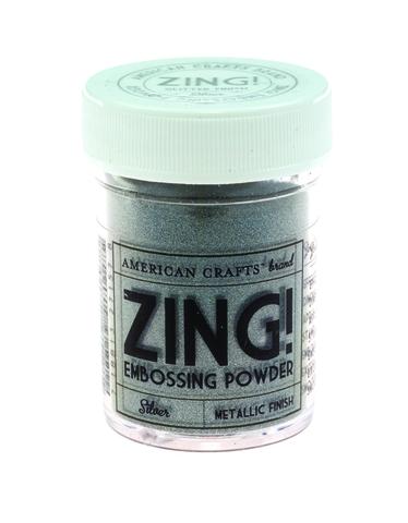 Пудра для эмбоссинга ZING! Metallic Silver