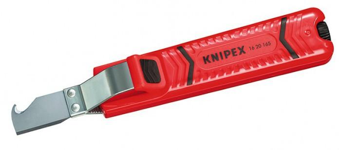 Нож для снятия изоляции Knipex KN-1620165SB