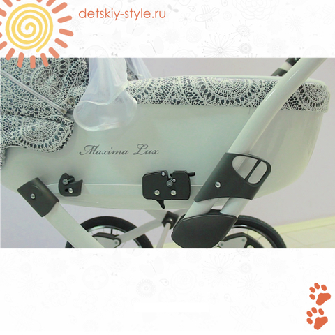 """Коляска Stroller B&E """"Maxima Lux"""" 3в1"""