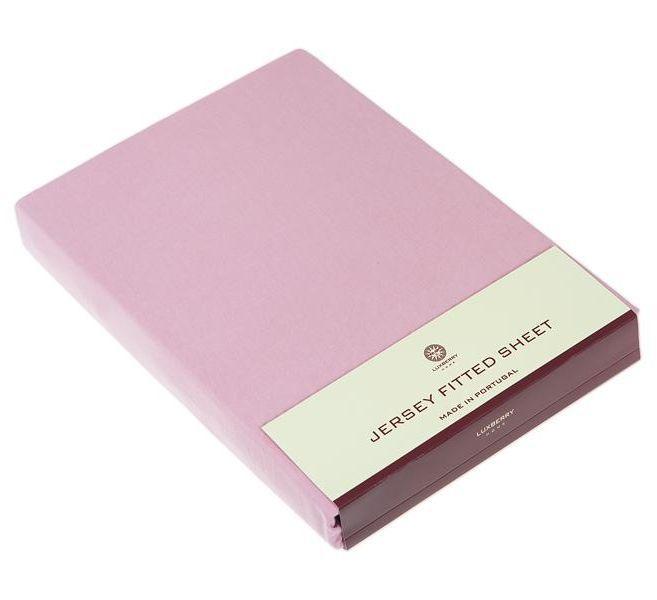 Простыни на резинке Простыня 90х200х30 Luxberry (Т) Трикотаж Джерси розовая elitnaya-prostynya-t-trikotazh-dzhersi-rozovaya-ot-luxberry-portugaliya.jpg