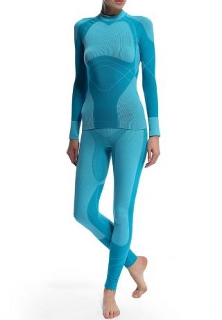 Комплект термобелья Craft Warm blue женский