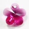 6744 Подвеска Сваровски Цветочек Fuchsia (14 мм)