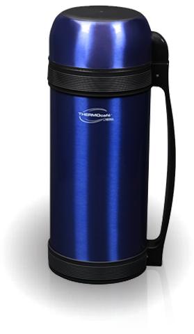 Термос универсальный (для еды и напитков) Lucky Vacuum Food Jar (2.0 литра) синий