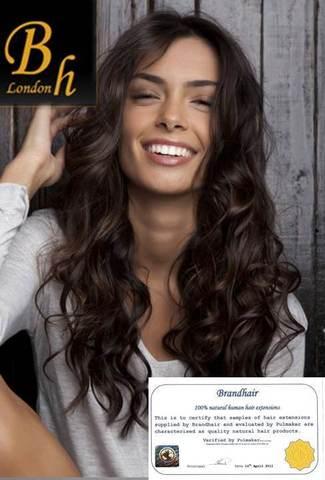 Вьющиеся волосы оттенок 2-темный шоколад 68-70 см--Вес набора 140 грамм