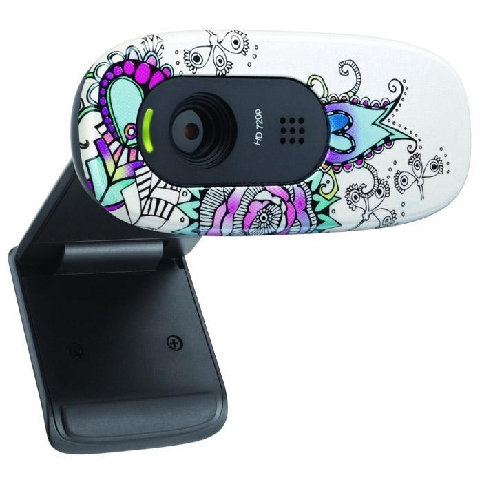 LOGITECH C270 HD Floral Foray