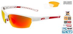 Спортивные солнцезащитные очки goggle COLLOT white