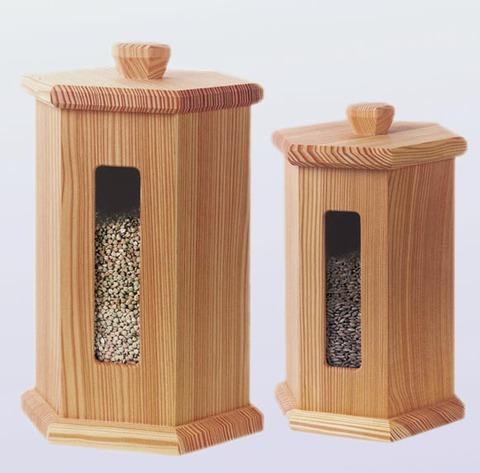 Деревянный контейнер для 5 кг зерна