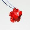 6744 Подвеска Сваровски Цветочек Light Siam (12 мм)