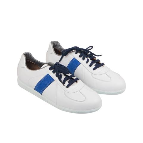 556396 белые полуботинки мужские. КупиРазмер — обувь больших размеров марки Делфино