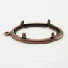 Сеттинг - основа - подвеска для камеи или кабошона 25х18 мм (оксид меди)