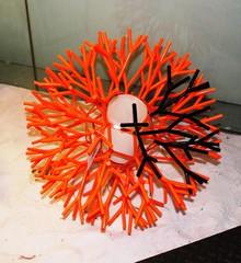 лампа Coral By Palluco красная