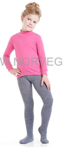 Термобелье колготки Norveg Merino Wool детские серые