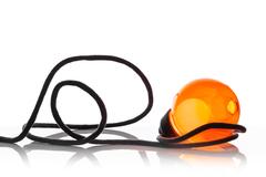 настольная лампа BOCCI  28 sp ( orange )