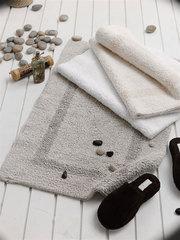 Элитный коврик для ванной Newcastle светло-коричневый от Casual Avenue