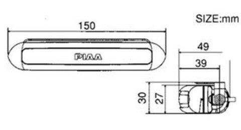 Дополнительный стоп-сигнал PIAA Deno 5 PE19