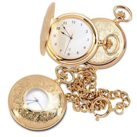 """Купить Карманные позолоченные часы """"Звезда Востока"""" по доступной цене"""