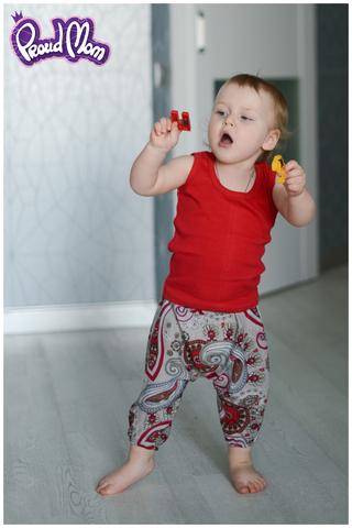 Детская маечка Легкость бытия красная