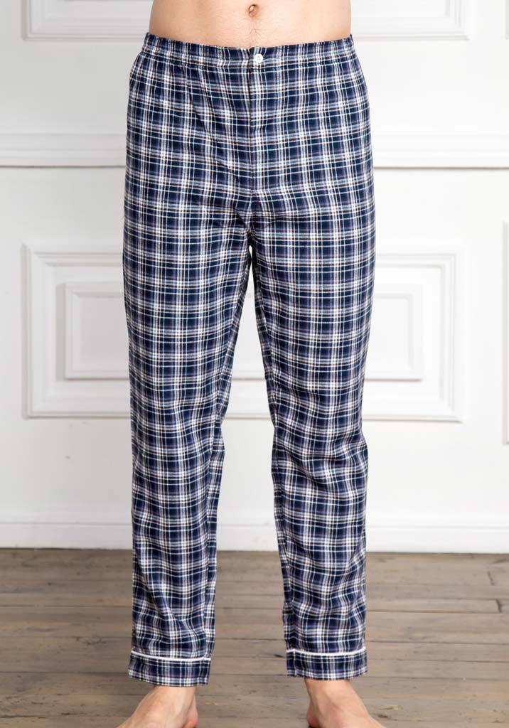 Фланелевые мужские домашние брюки Pellegrini (Домашние костюмы и пижамы)