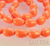 5821 Хрустальный жемчуг Сваровски Crystal Neon Orange грушевидный 11х8 мм ()