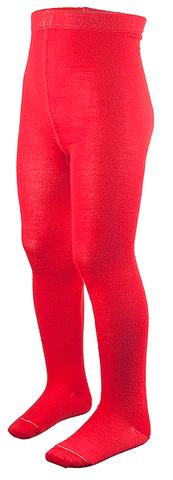 Колготки из шерсти мериноса Norveg Wool Red детские