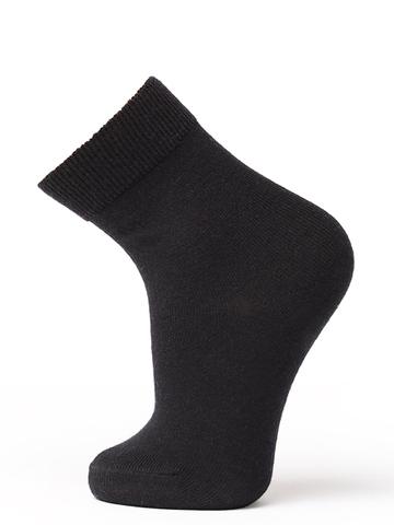 Термоноски утепленные с шерстью мериноса Norveg Wool Black детские