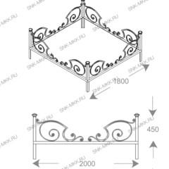 Ограда Карета