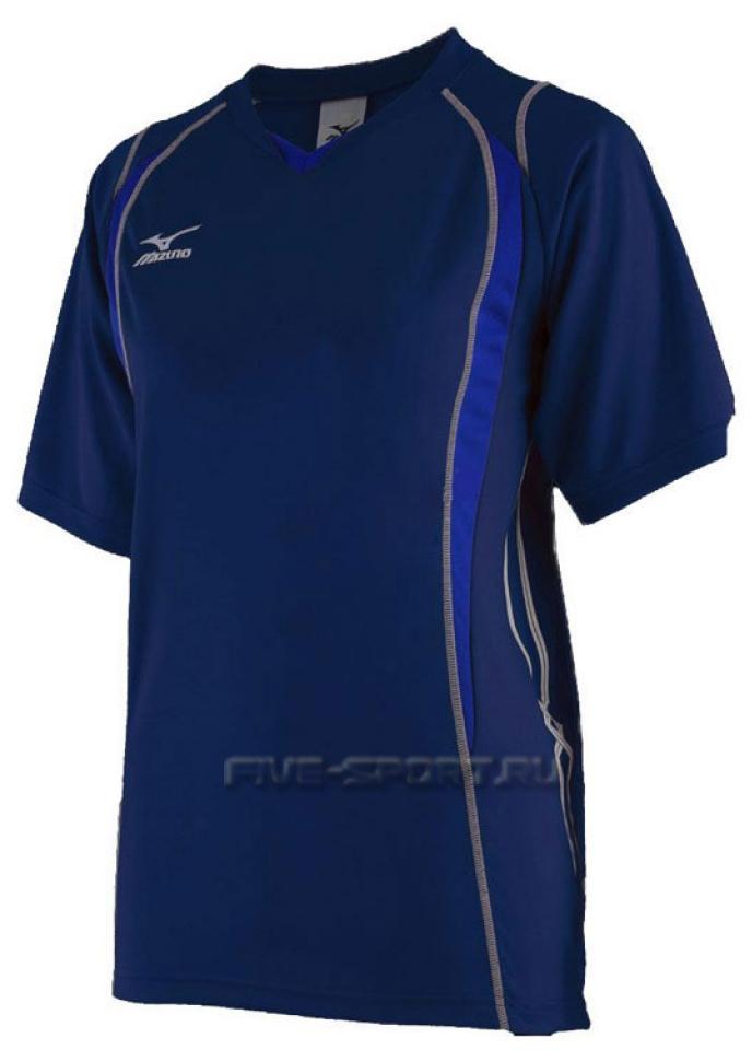 Mizuno Premium Top Футболка волейбольная 59TF150 14 - купить в интернет-магазине Five-sport.ru. Фото, Гарантия, Бесплатная  Доставка.