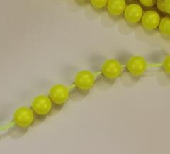 5810 Хрустальный жемчуг Сваровски Crystal Neon Yellow круглый 6 мм, 5 штук