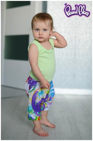 Детская маечка Легкость бытия салатовая