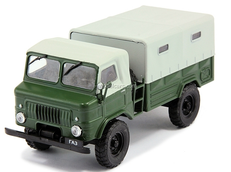 GAZ-62 dark green 1:43 DeAgostini Auto Legends USSR #109