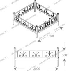 Ограда Лилия