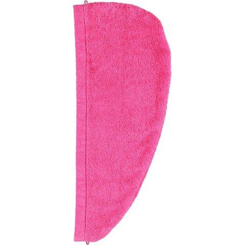 Полотенце для волос 70x70 Cawo Turban 7073 Hairtowel малиновое