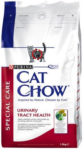 Cat Chow Сухой корм для кошек для профилактики мочекаменной болезни 1,5 кг