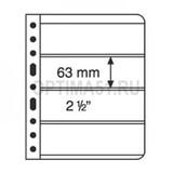Лист для банкнот VARIO, 4 ячейки, прозрачный