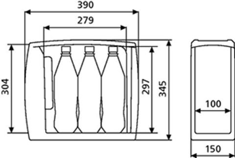 Сумка-холодильник WAECO BordBar TF-08 (8л)