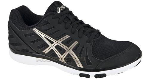 Кроссовки для бега Asics Ayami-Zone женские, Черно-бел
